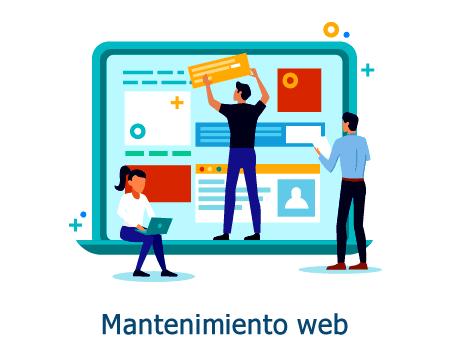 Servicio de mantenimiento web