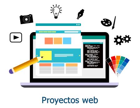 Servicio de proyectos web